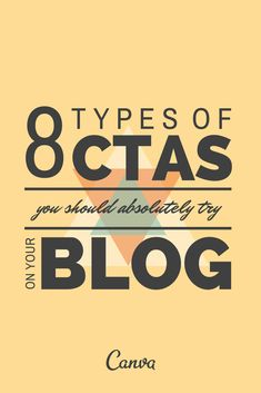 8 Types of CTAs You Should Absolutely Try on Your Blog http://blog.hubspot.com/marketing/types-ctas-blog