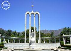 Das Monument von Franshoek, Kapstadt, Südafrika #ebookers