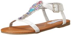 Steve Madden Jchiaree (Little Kid/Big Kid) >>> Can't believe it's available, see it now : Girls sandals