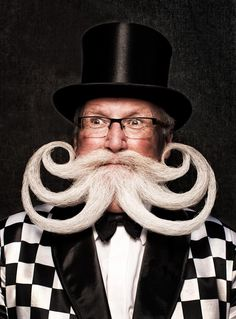 """Photo from the World Beard Competition. Watch """"Splitting Hairs"""" FREE at SnagFilms."""