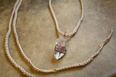Clear Tibetan Quartz  Healing Crystal Jewelry  by ThriftyGypsies, $19.00    #quartz #crystal #healingjewelry