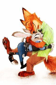 They love warm hugs too!