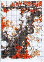 "Gallery.ru / COBECTb - Альбом ""21"" Red Plum, Cross Stitch, Map, Punto De Cruz, Seed Stitch, Location Map, Cross Stitches, Maps, Crossstitch"