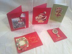 3-ulotteiset joulukortit