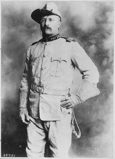 Colonel Theodore Roosevelt, 1st Cavalry, U.S.Volunteers, 1898