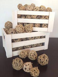 Decorative Wicker Balls Decorative Balls Rattan Balls Twig
