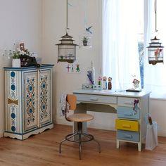 Resultado de imagen para escritorios estilo vintage