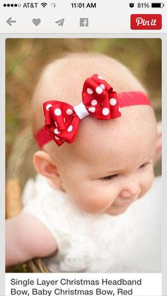 Red with polka dots!!!