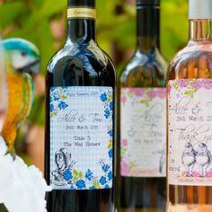 Alice in Wonderland Personalised Bottle of Wine