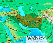 Map of the Parthian Empire Turkic Languages, Semitic Languages, Parthian Empire, Achaemenid, Blue Green Eyes, Sumerian, Historical Maps, World History, Armenia