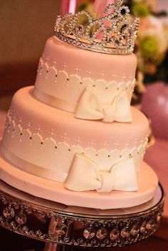 princess cake. so pretty!