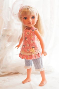 "14"" Outfit for Hearts 4 for Hearts Doll by Dotsydoodle So Cute 