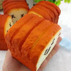 Jumbo KAWAII Toast Soft Squishy Expression Card Cellphone Holder Hand Pillow R for sale online Bread Squishy, Bag Hanger, Stress Toys, Kawaii, Cell Phone Holder, Anti Stress, How To Relieve Stress, Hot Dog Buns, Cell Phone Accessories