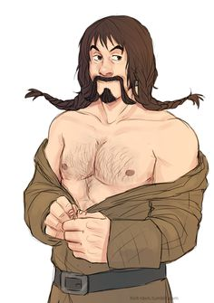 request for croustille shirtless bofur
