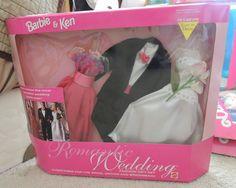 1992 Ken & Barbie - Romantic Wedding #