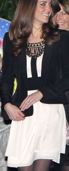 Duchess of Cambridge (Love the detail at the neckline.)