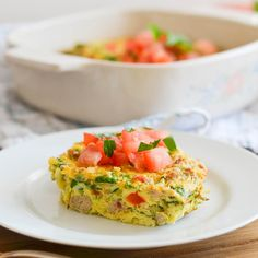 Enjoy this delicious Paleo Breakfast Casserole (Whole30, Paleo, Grain-free, Gluten-free, Low Carb) in the morning, for brunch or anytime! Make ahead or have this Dairy Free Breakfast Casserole with Potatoes! Just a few ingredients and easy to make!