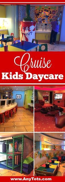 Cruising with Kids. How a day care looks like on a cruise? Princess Cruise Kids Day Care looks amazing with tons of fun activities and things to do. Visit www.anytots.com for more Cruise Tips and Tricks.