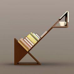 Bookshelf Furniture Design With Unique Shape By Gerardo Mari | Furniture  Design | Pinterest