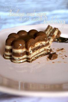 Baileys and coffee (agar agar) pudding