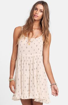 Billabong 'Day Dreamy' Print Swing Dress available at #Nordstrom