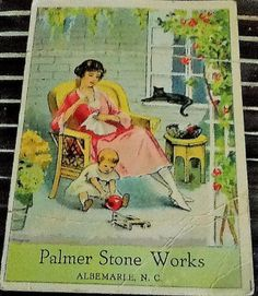 Palmer Stone Works Vintage Sewing Kit by emotionallyyours on Etsy