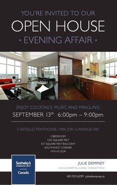 #real estateCastello Open House