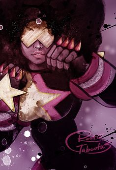 Steven Universe Garnet by RootisTabootus on DeviantArt - One of my favorite artists, and one of my favorite Garnet pictures!