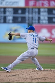 Jeremy Guthrie - The winning pitcher for the Royal's  game vs. the White Sox that put us into the playoffs. Kansas City Royals Team Photos - ESPN