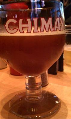 Great Belgian beer..Chimay Rouge