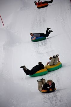 If there is one thing that will get me outdoors this Winter....DEFINITELY THE SLEDDING PART!!!! WEEEEEEE