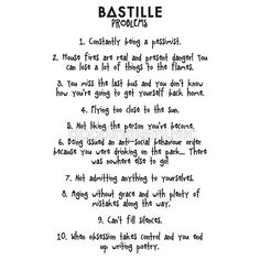 bastille fan shirt