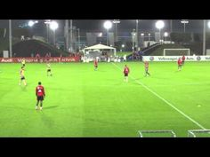 FC Bayern Team Training Tactical Session Doha 2014 - 2 - YouTube
