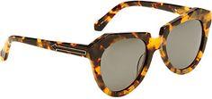 Karen Walker Number One Sunglasses - - Barneys.com