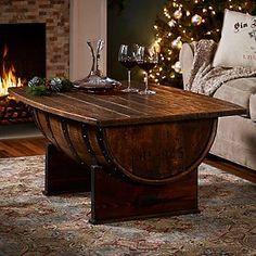Jack Daniels Whiskey Barrel Dining Table Oaksmith