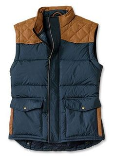 Orvis Quilted Down Vest