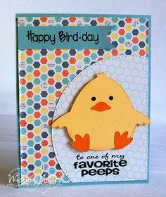 ... Joyful Stamper: Happy BIRD-day JOY!