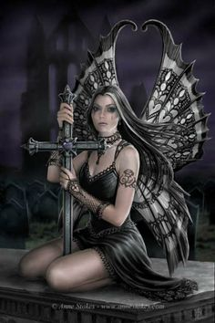 Anne Stokes Fairies | Fairy Magyk Ecards - Anne Stokes - Lost Love