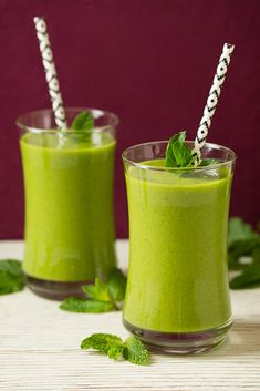 Just have to say - LOVE these Straws!!! Mango Green Tea Smoothie | Cooking Classy