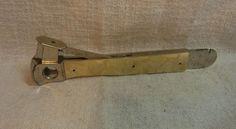Vintage German Cigar Cutter V / Incision Cut Pfeilring Solingen #K