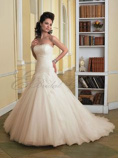 I love the way this is drapped around the bodice. It's hard to see in the small picture