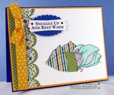 BY: Kendra Wietstock for Crafter's Companion.  Brambly Hedge release.