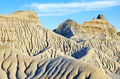Great texture with all the rock ripples  - Dinosaur Provincial Park