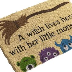 Bewitching Doormat - $34.00 - Wisteria Halloween  on sale now for $20.40