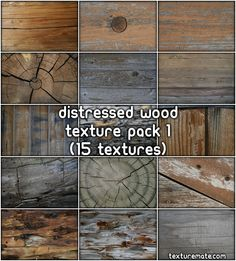 Distressed Wood 1 Free Texture Pack | texturemate.com - Free Textures, Brushes, Patterns, and Design Articles!