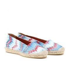 mytheresa.com - Missoni - RASCHEL ESPADRILLES - Luxury Fashion for Women / Designer clothing, shoes, bags