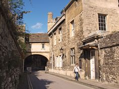 Oxford: New College Lane.