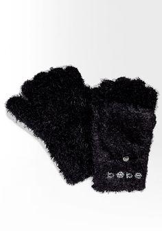 bebe Logo Chenille Convertible Glove #bebewishlist