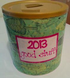 Good Stuff Jar! LOVE this!
