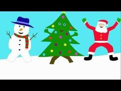 The Dancing Christmas Tree Song- brain break!